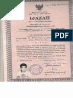 Ijazah Aliah Zakariah