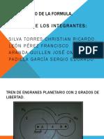 Metodo de La Formula.