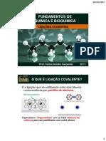 Aula 05 -Ligações Covalentes