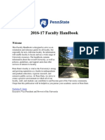 2016 17 Penn State Faculty Handbook August 2016 2m5tgmf