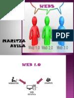 HERRAMIENTAS WEB 1.0- 2.0 3.0