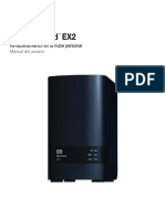 Manual WD My Cloud EX2