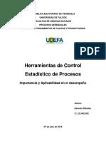 Genesis Ribullen 25402302 Herramientas de Control Estadistico de Los Procesos