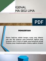 Mengenal Prisma SegiLima 1