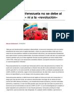Sinpermiso-la Ruina de Venezuela No Se Debe Al Socialismo Ni a La Revolucion-2018!05!06
