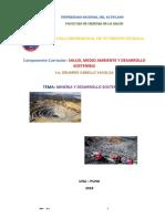2 2018 Minería y Desarrollo Sostenible