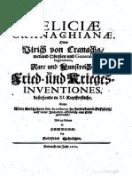 Deliciae Cranachianae Oder Rare Und Kuns