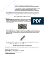 Dispositivos de Almacenamiento, Formats de Audio y Video