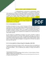 Desarrollo Historico de La Educación Superior en Panamá, Objetivos, Funciones e Importancia
