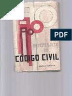 Anteprojeto Do Codigo Civil