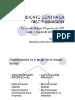 El Sindicato Contra La Discriminacion Nuria Gonzalez