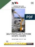 Manual Operacion y Mantenimiento