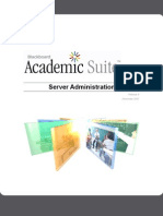 Blackboard Academic Suite Server Administration Guide for Release 8
