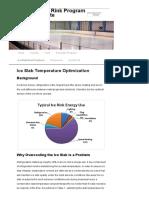 Ice Slab Temperature Optimization _ Municipal Ice Rink Program Participant Site