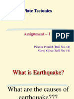 Pravin Poudel, Suraj Ojha_Plate Tectonics_1st Sem_Assignment.ppt