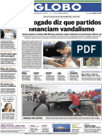 Jornal O Globo 2014 Voetur