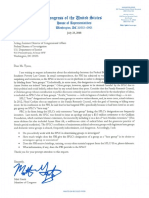 7-23-18 Letter to FBI Congressional Affairs Re FBI Relationship With SPLC