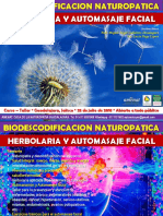 Curso Taller Biodescodificacion Herbolaria Automasaje Julio 2018