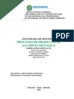 Alumínio Metalurgia Extrativa