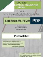 Tugasan_Liberalisme Pluralisme
