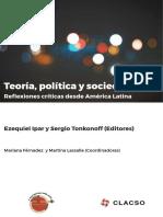 Teoría política y social