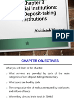 Chapter 3 Non- Deposit-taking Institutions