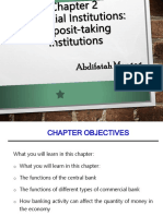 Chapter 2 Deposit Taking Institutions (1)