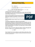 Master Project 1 Format of Technical Paper
