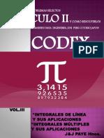 Calculo II Codex Tomo III Actualizado