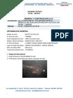Ot18 - 015-c CIA Minera El Brocal Tcd 2012 l04 Serie 11982905 Empernador Sandvik 29