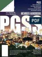 PGSS Member Handbook