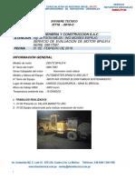 Ot18 - 019-c CIA Minera El Brocal Bf4l914 Serie 08917587 Lanzador 10
