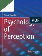 Psychology of Perception 2016