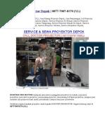 Jasa Pasang Projector Depok | 0877-7007-8170 (XL)