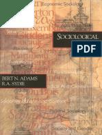 Bert N. Adams, R. a. Sydie-Sociological Theory-SAGE Publications, Inc (2001)
