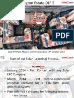 WECA SOLAR for Gurgaon First