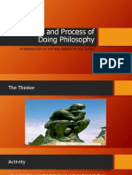 2 Meaning and Process of Doing Philosophy