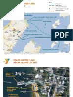 Peaks to Portland Map