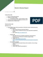 Work Log Reports