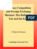 Currency Competition and Foreign Exchange Markets - Hartmann, P [1998]