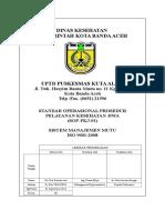 14. Pengesahan SOP-PKJ-01 Pelayanan Kesehatan Jiwa