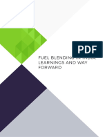 Expert Paper on Fuel Blending in India - Final