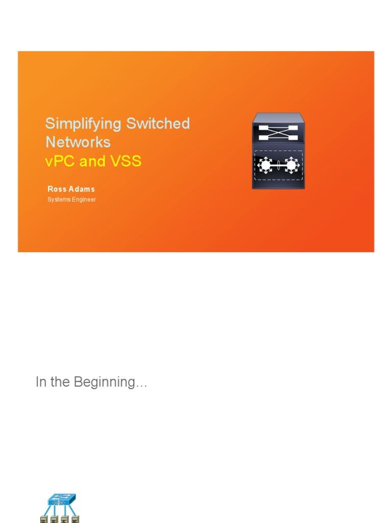 simplifyingnetworksusingvpcandvss-160329194358   Network