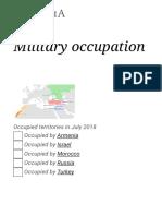 Military Occupation - Wikipedia