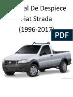 Fiat Strada (1996-2017) Manual de Despiece