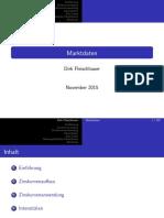 Market Data Presentation