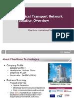 FiberHome Optical Network Overview Kntelecom Ir