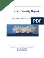 INTERCARGO Bulk Carrier Casualty Report 2018 05