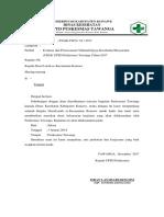 Surat Evaluasi Awal Tahun 2018