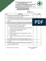 Evaluasi Pelaksanaan Persiapan Pemulangan Pasien